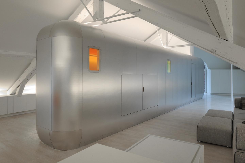 The Kempart loft (Photo: © Serge Brison for Dethier Architectures)