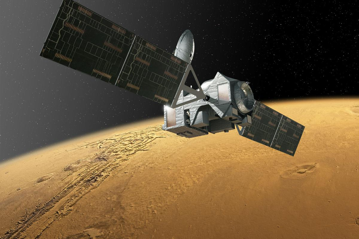 Trace Gas Orbiter will seek out traces of methane in the Martian atmosphere