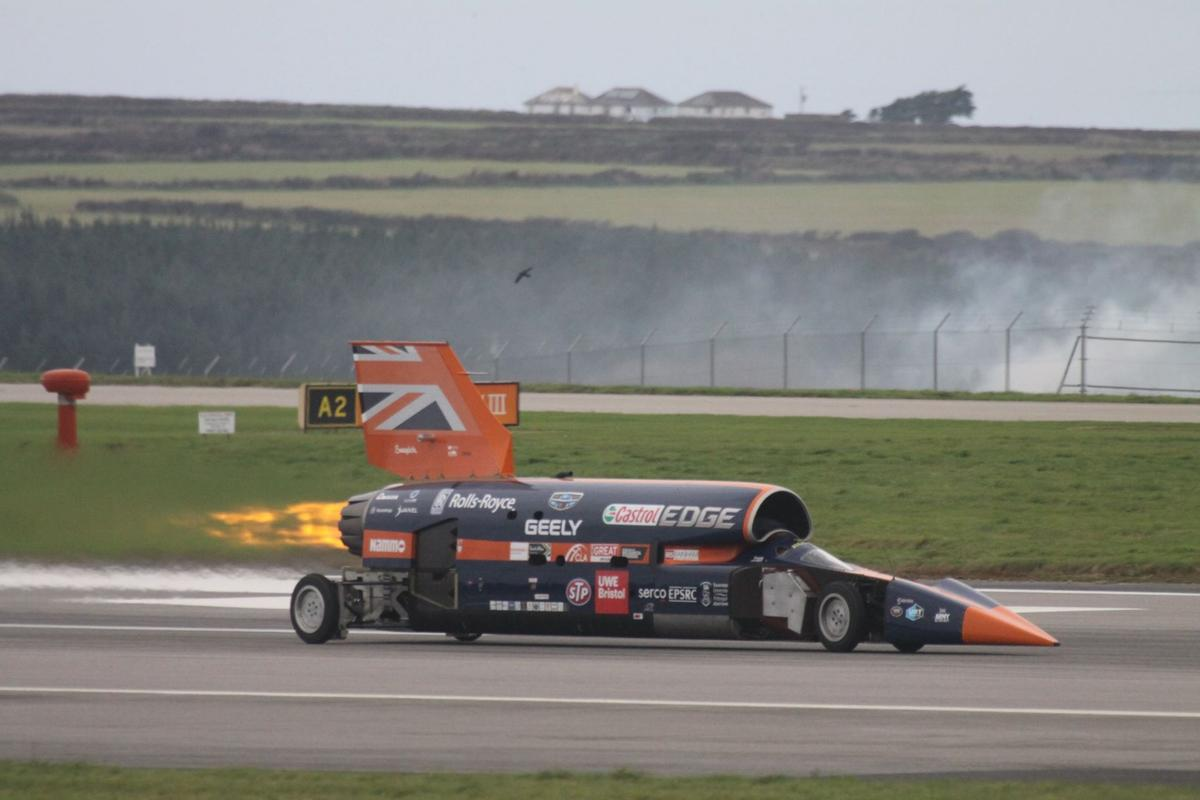 Bloodhound SSC's immediate future has been secured thanks to a Yorkshire-based investor