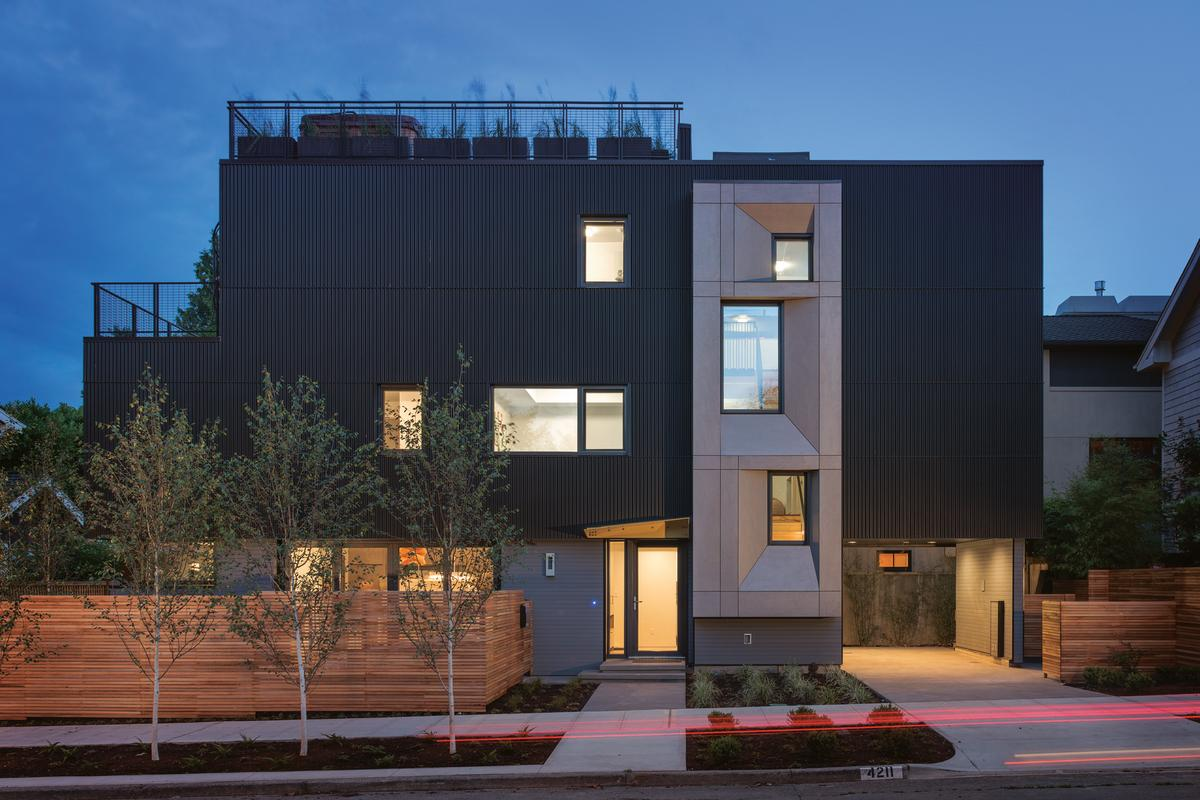 Park Passive House is Seattle's first certified Passive House (Photo: Aaron Leitz)