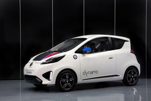 MG has developed an EV concept car named Dynamo