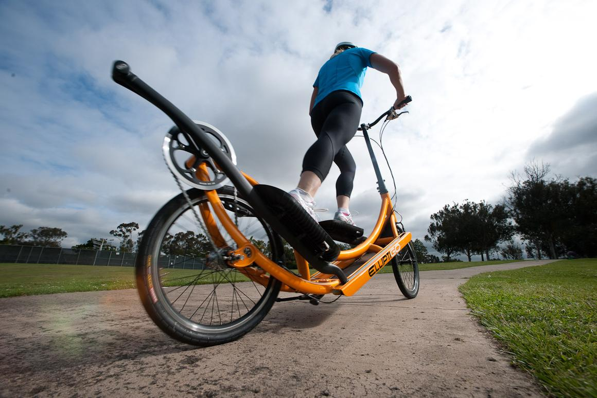 ElliptiGO has announced the release of a new three-speed elliptical bike that is said to offer all the benefits of running and cycling, in one machine