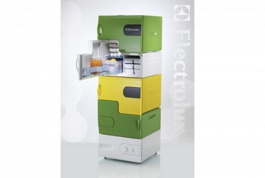 Stefan Buchberger's modular fridge design