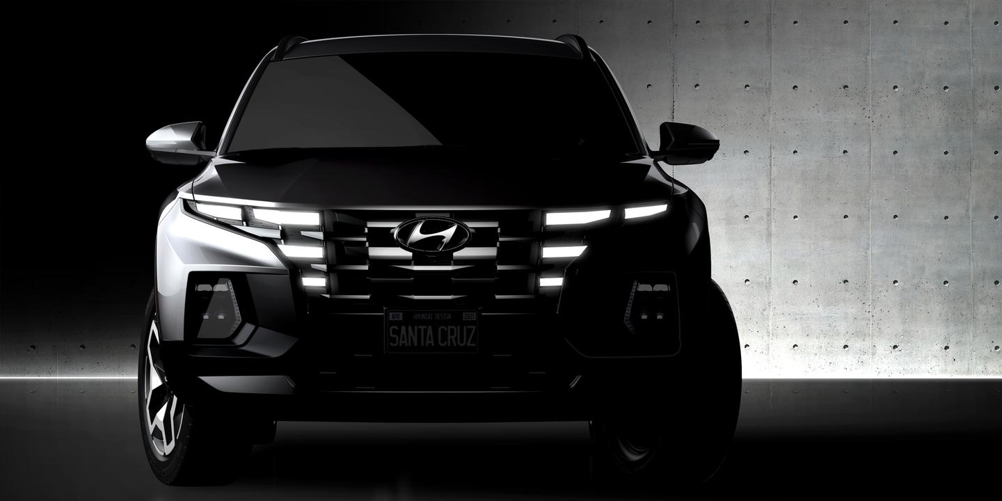 The upcoming Santa Cruz is being called a Sport Adventure Vehicle by Hyundai, and will enter production later in 2021