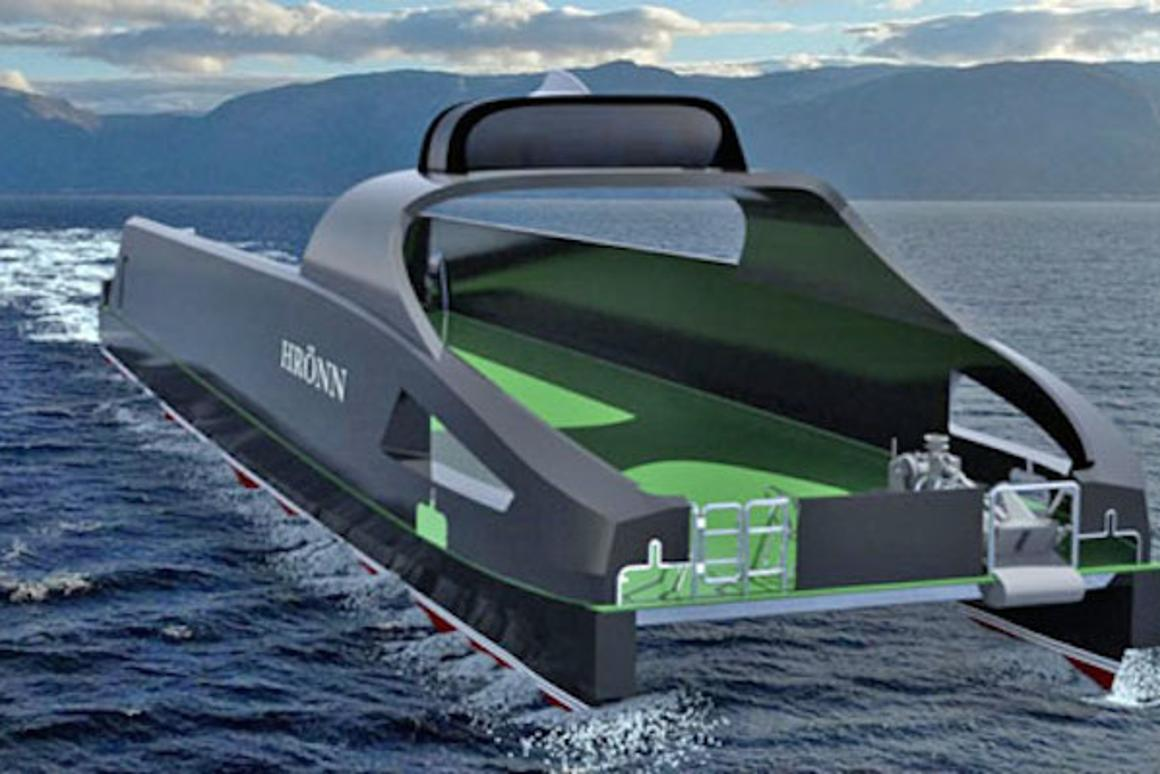 Automated Ships Ltd and Kongsberg have announced plans for Hrönn, the world's first unmanned ship for offshore operations