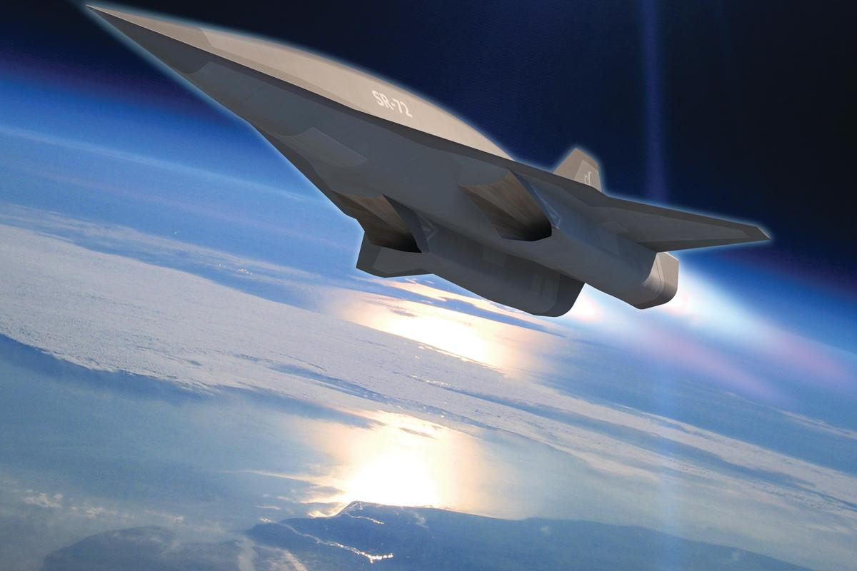 Artist's concept of the SR-72 (Image: Lockheed Martin)