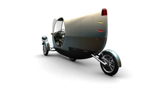 The Moby concept car - perfect for getting out of and through tight spots