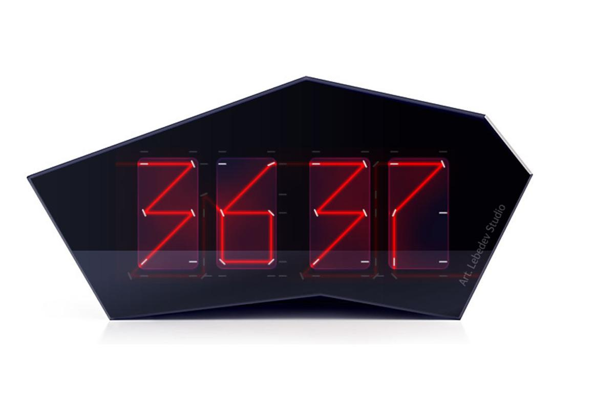 Reflectius Clock Tells Time With A Single Laser