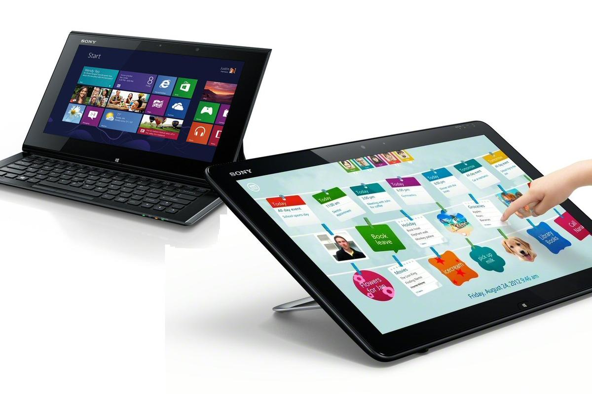 Sony has unveiled the VAIO models Touchworld collection, five new Windows 8 devices including a 20-inch tabletop family PC, and a hybrid slider Ultrabook/tablet