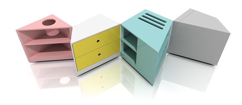 D-Haus's folding and unfolding D-Table