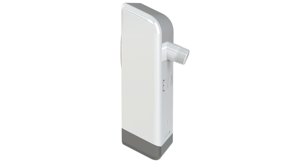 The half-inch pipe fitting is designed to fit most shower heads