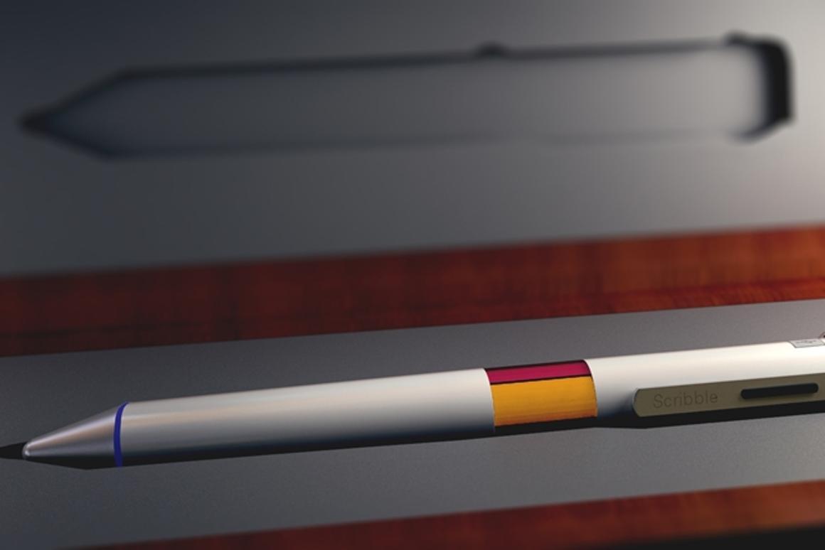 Color Sampling Scribble Pen Races Past Crowdfunding Goal