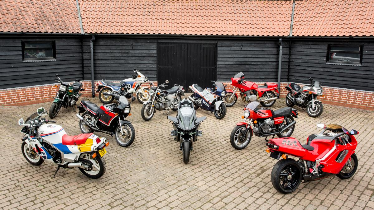 The array of bikes at Bonhams' twice-yearly Stafford sale is always worth closer inspection