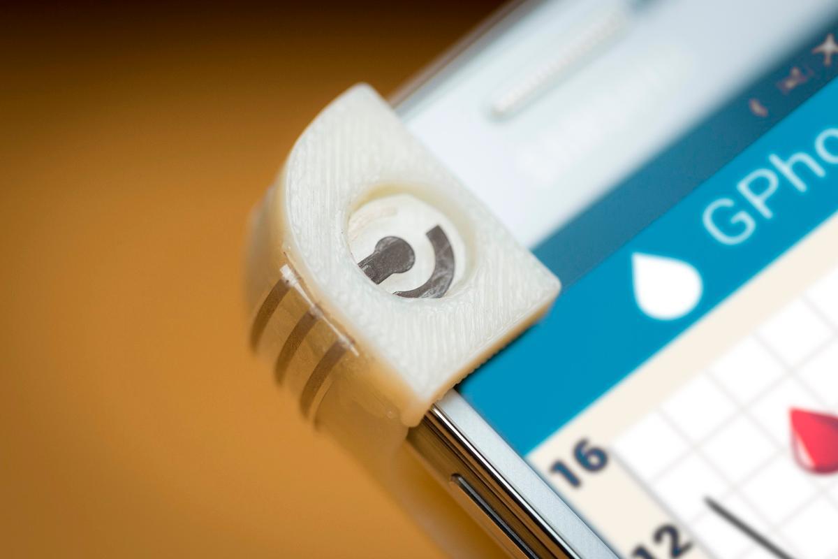 The GPhone's reusable sensor