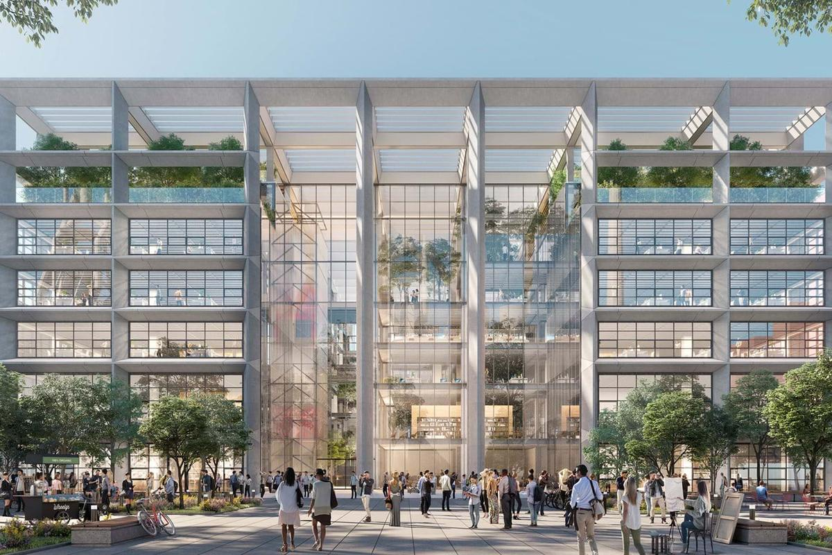 The Icône is slated to receive a BREEAM Excellent rating (a green building standard) and its design will maximize natural light inside and feature natural ventilation