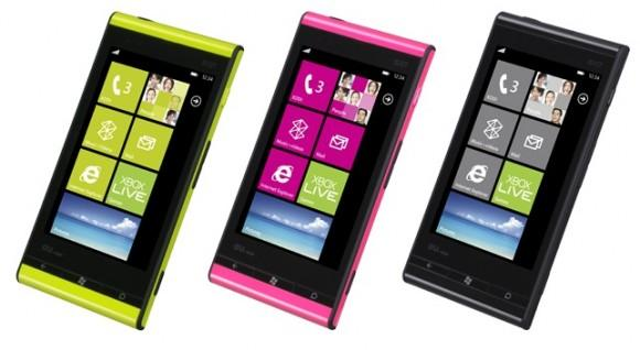 Fujitsu and Toshiba have unveiled the IS12T handset which runs on Windows Phone 7 Mango