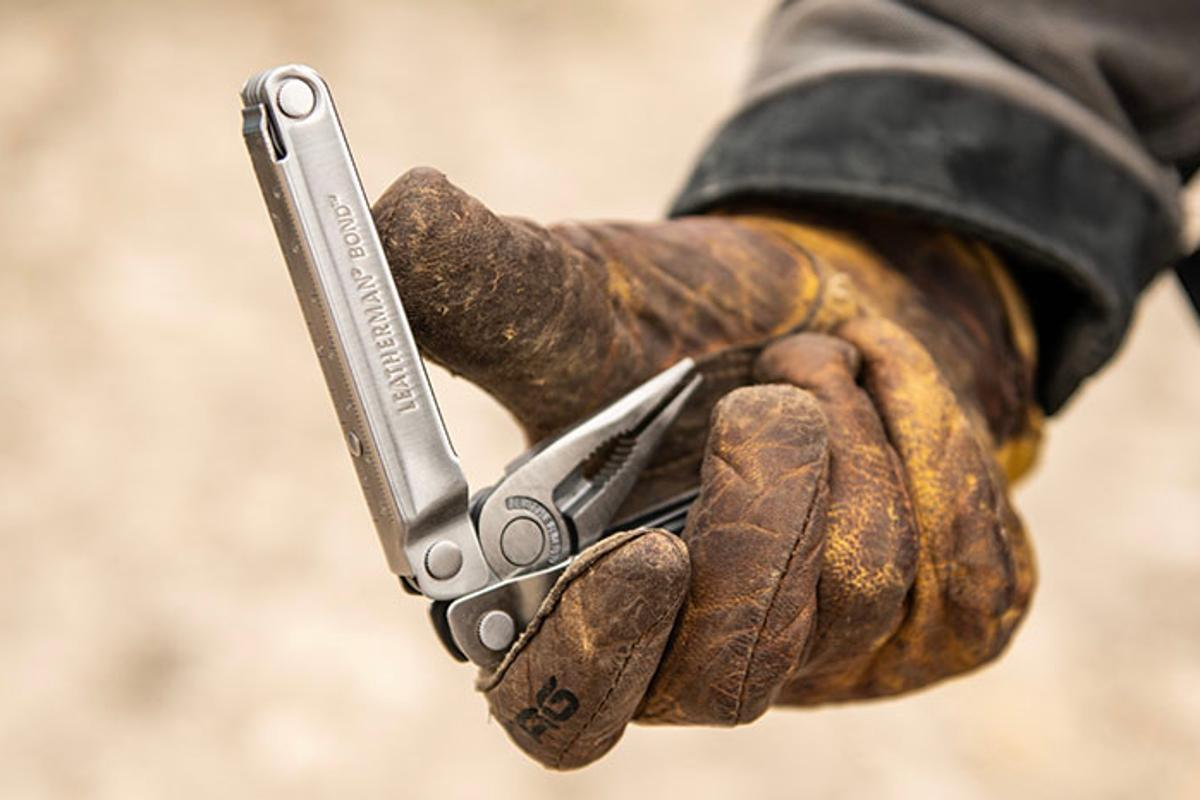 The Leatherman Bond is inspired by the company's original PST multitool from 1983