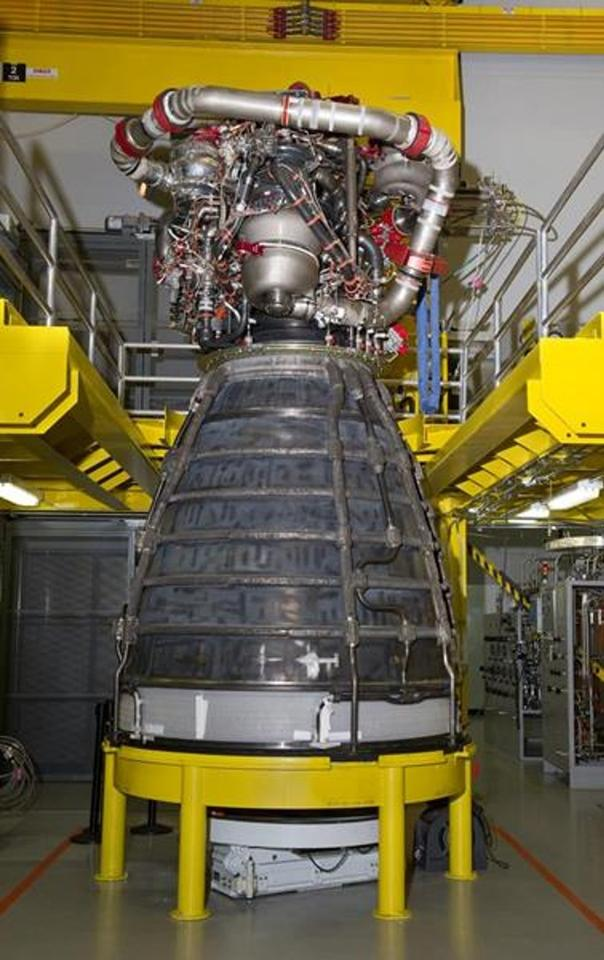 The engine was built for Boeing as part of the DARPA Phantom Express program