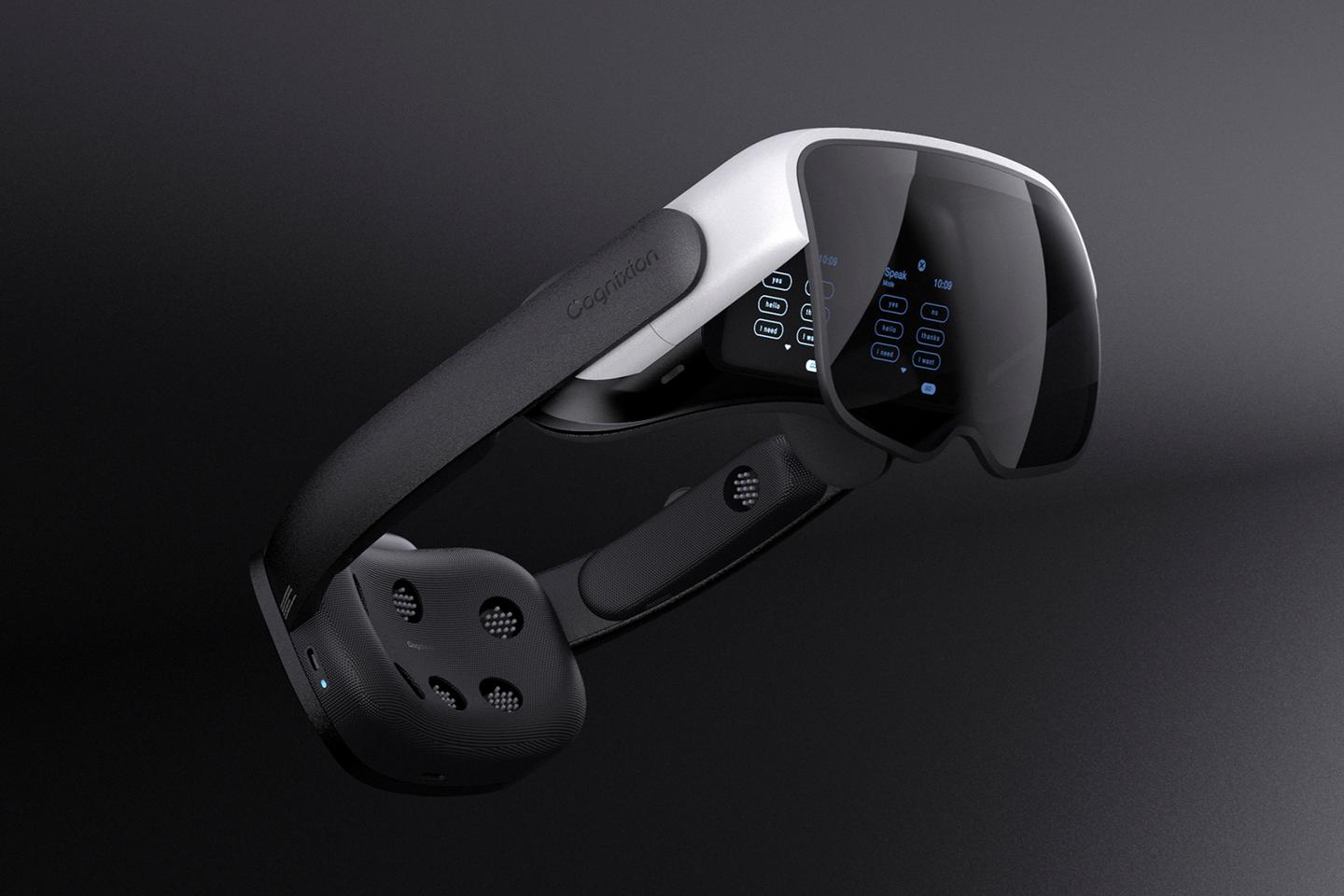 The Cognixion ONE features non-invasive brain scanning technology