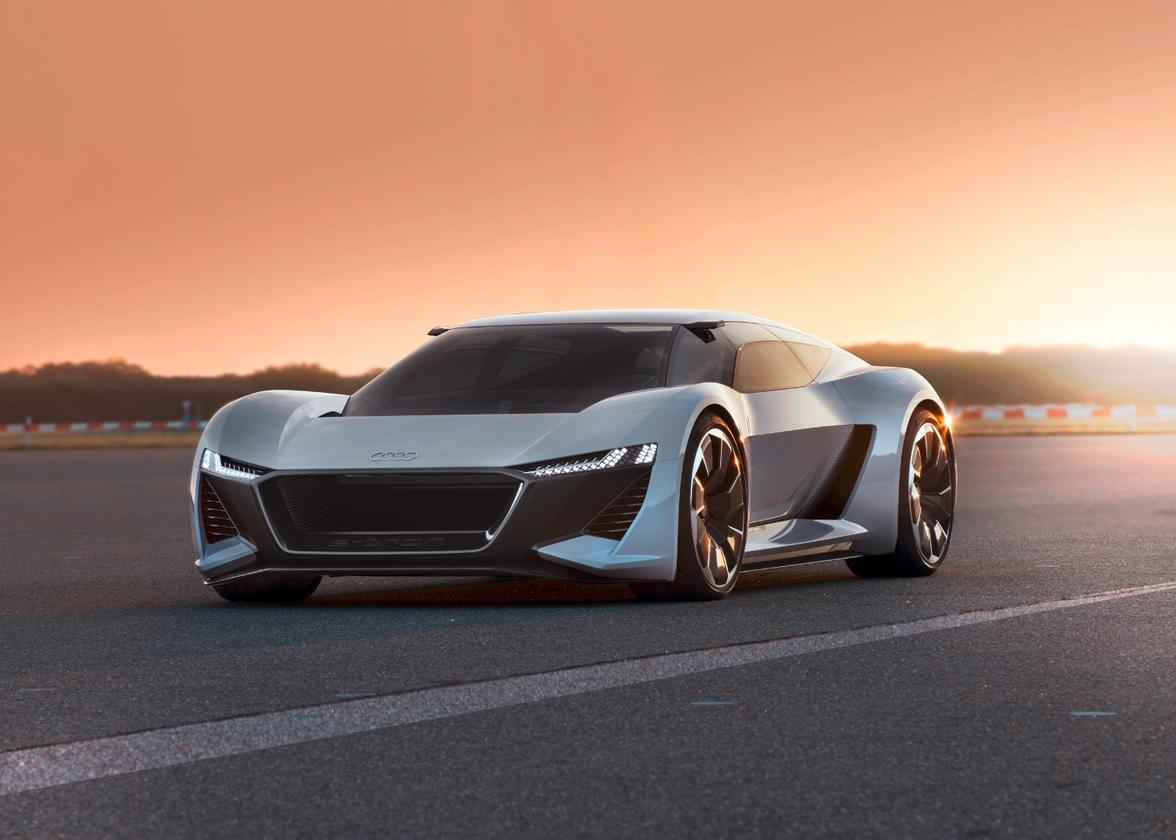 The PB 18 e-tron concept was conceived at Audi's Malibu, California design studios and the choice to debut it at Pebble Beach was obvious