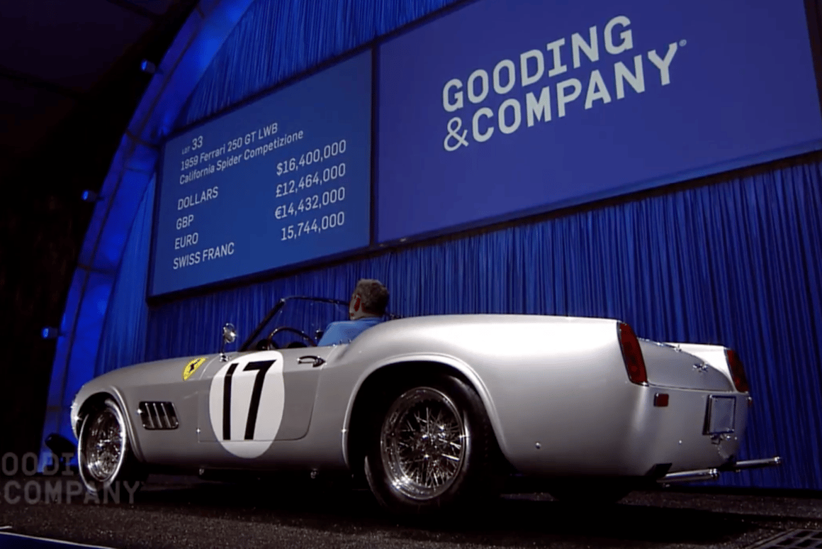 Two Ferrari 250 GT California Spiders set to be market