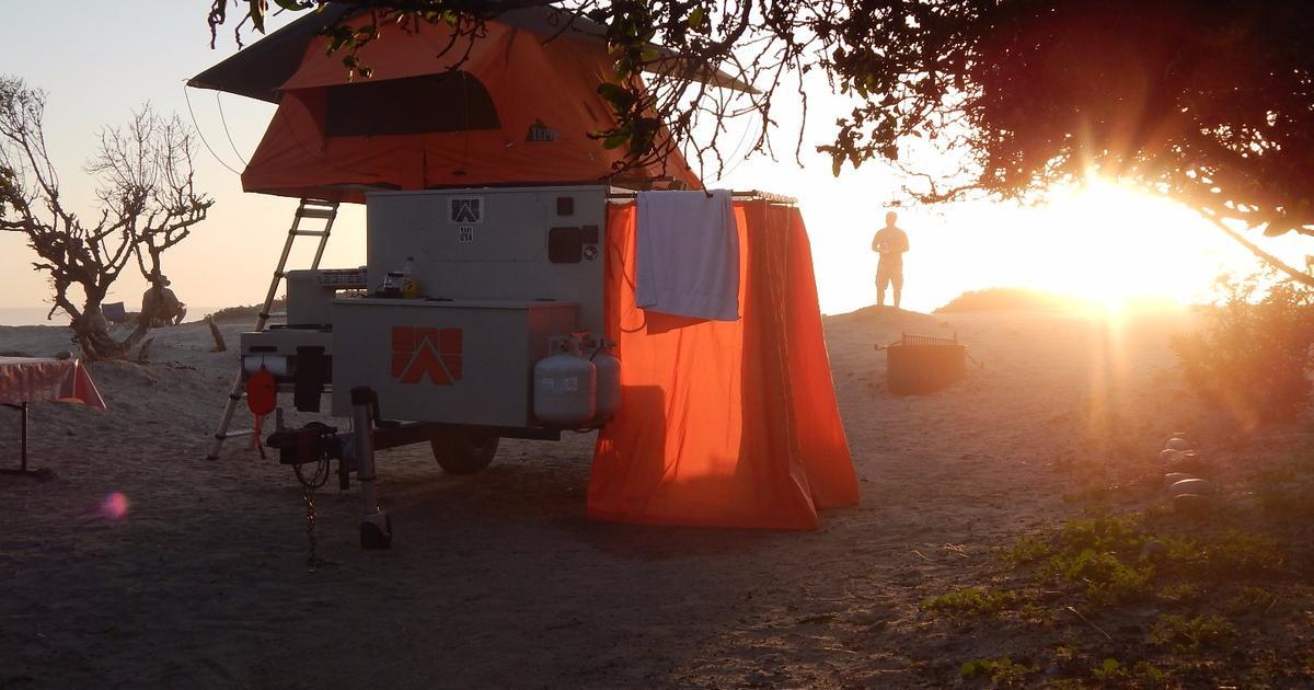 Base Camp customizable trailer supplies a rugged box of