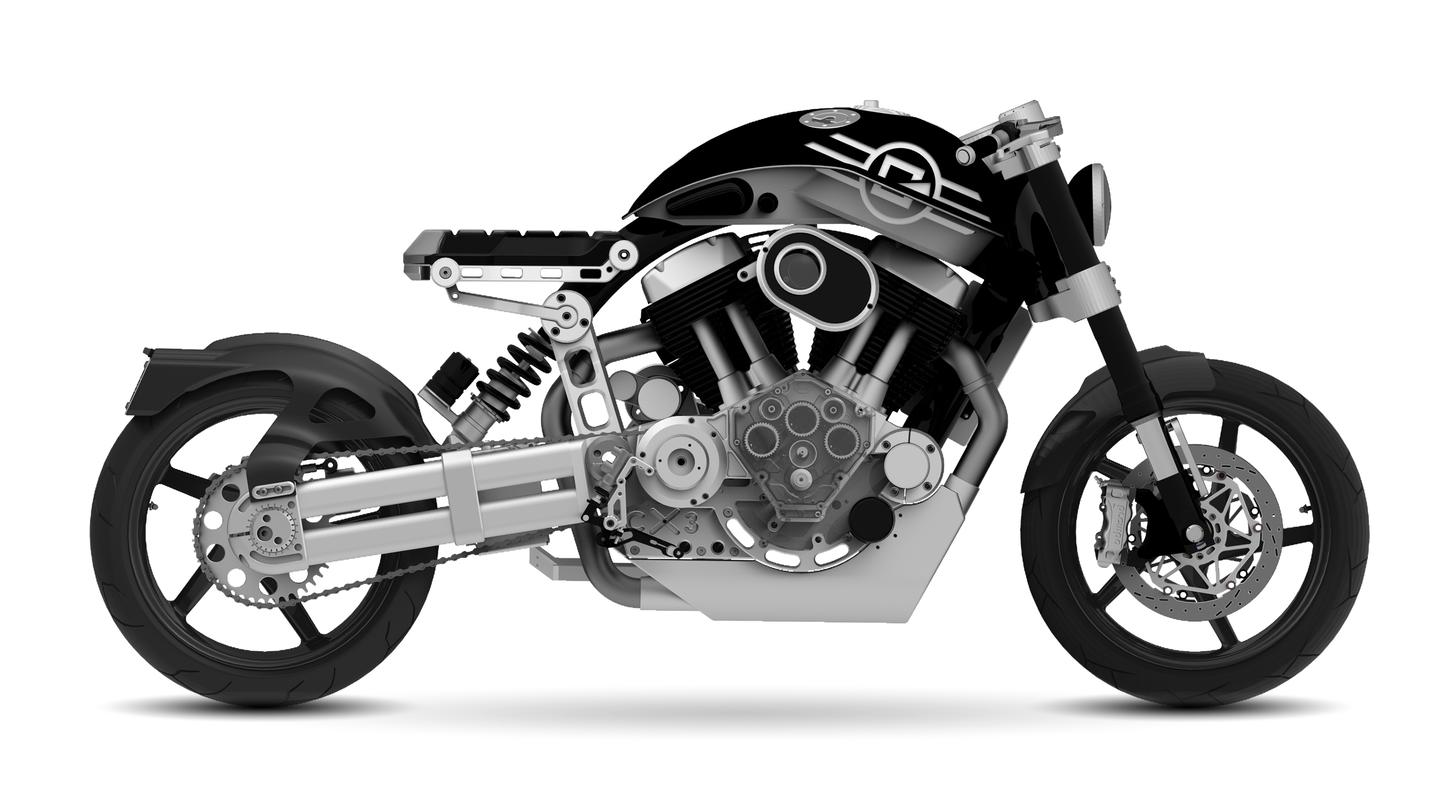 The Confederate C3 X132 Hellcat: Fighter series