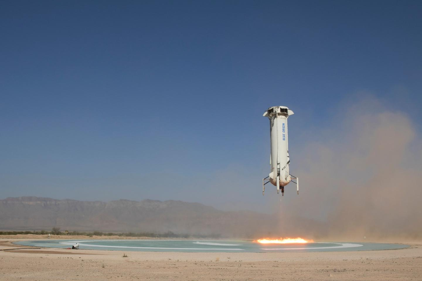 Today's launch was the ninth New Shephard suborbital mission