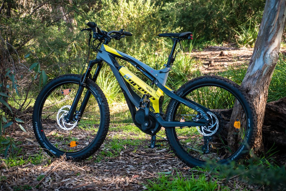 The Greyp 6.1 is an enduro-style off-road ebike with a ton of smarts built in