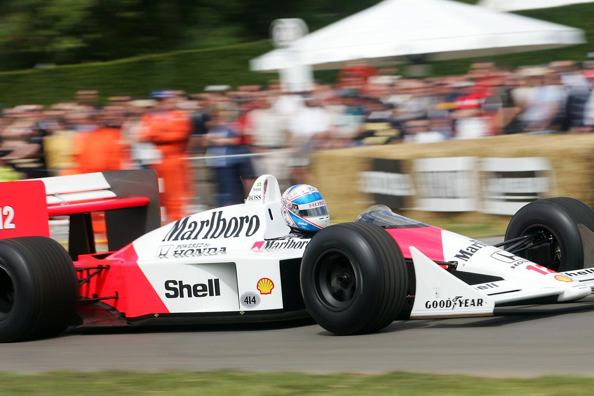 The 1988 McLaren MP4 was the most successful F1 car in history, winning 15 of 16 races.