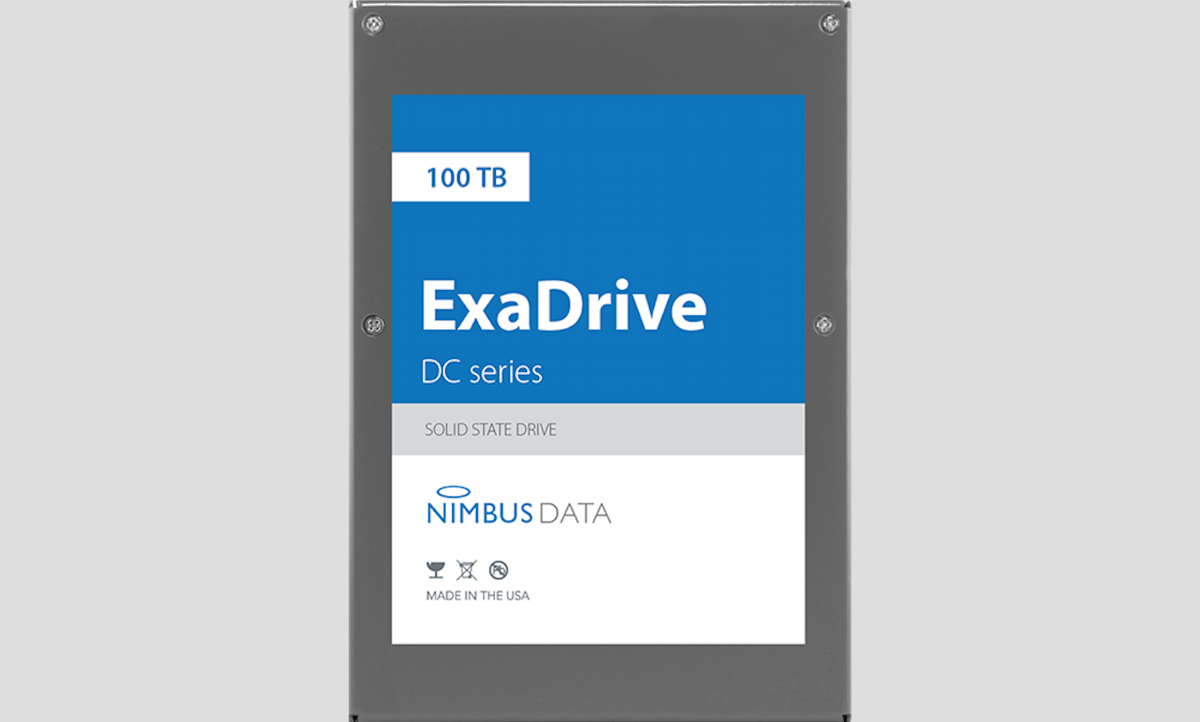 The new record for world's largest SSD has been set with a capacity of 100 TB