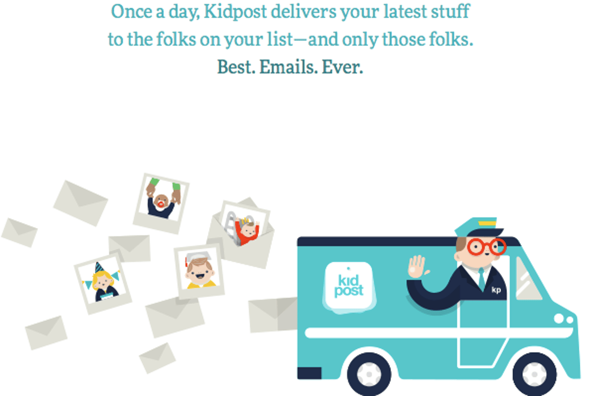 Kidpost is the work of former Design Director of The New York Times Online, Khoi Vinh