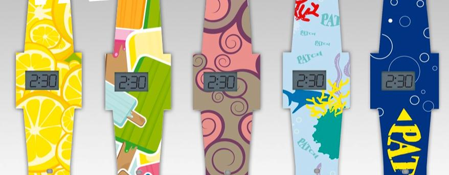 The PATCH paper watch comes in a range of prints