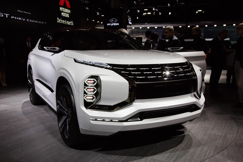 The Mitsubishi GT-PHEV debuts at the 2016 Paris Motor Show