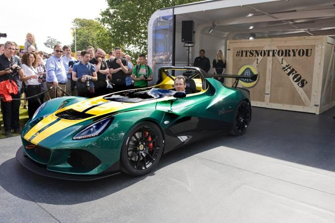 The Lotus 3-Eleven made its debut at Goodwood this weekend