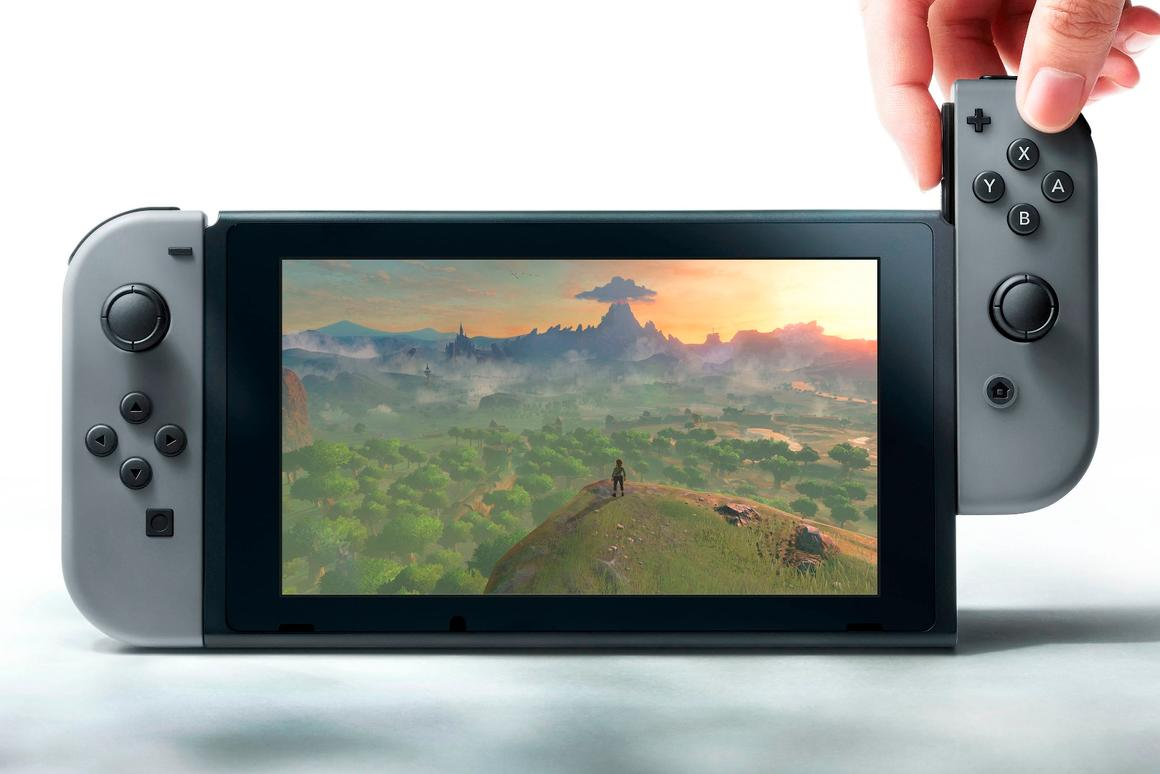 Nintendo Switch is a hybrid home/mobile gaming console, coming next year