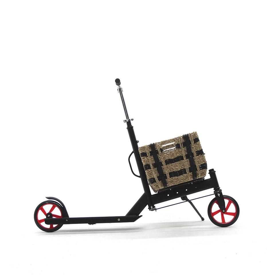 The Nimble Urban's flat rack allows you to strap gear directly or add a basket or carrier