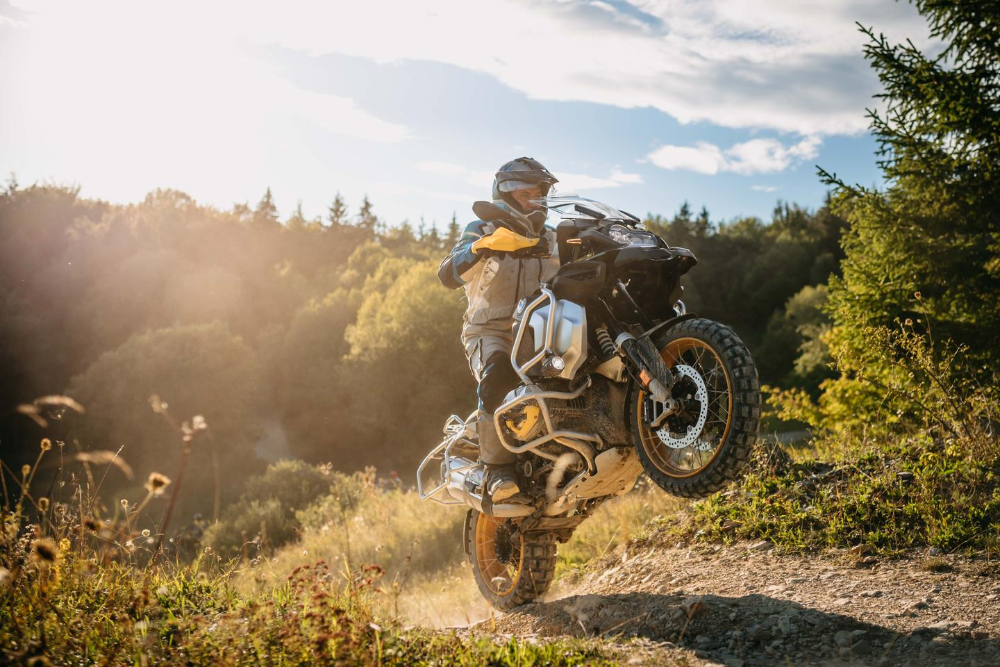 BMW's R1250GS Adventure can certainly party in the right hands