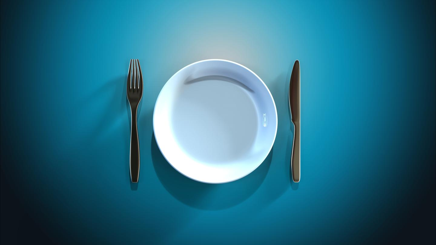 A trial found fasting subjects lost as much muscle mass as fat, whereas those eating a calorie controlled diet lost mostly fat