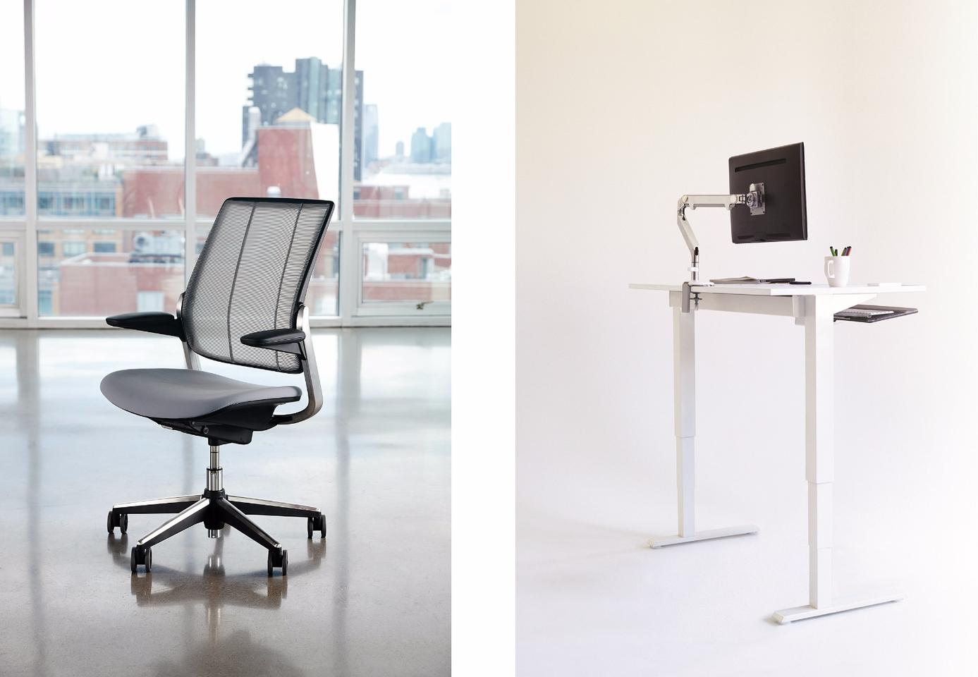 The first two full Living Product Challenge certifications have been awarded to Humanscale for its Diffrient Smart desk chair and Float table