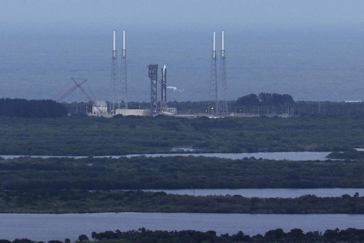 Orbital ATK CRS-4 Launch has been postponed due to high winds