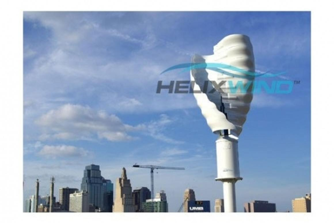 Mobile towers in the future could be self sufficient if wind turbines are used to power them