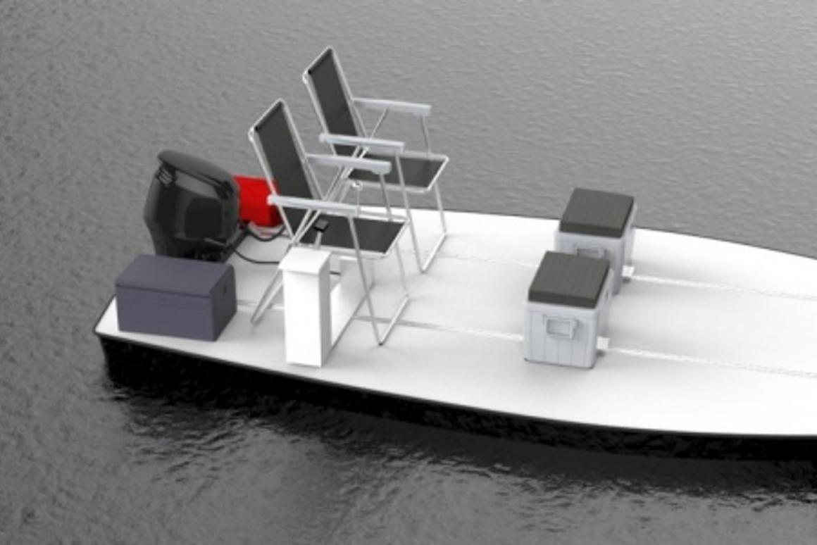 The BeachRay is a boat for minimalists