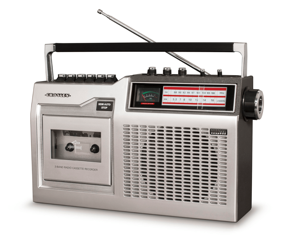 Helping to bring back the almost-forgotten audio cassette - the Crosley CT200 cassette player