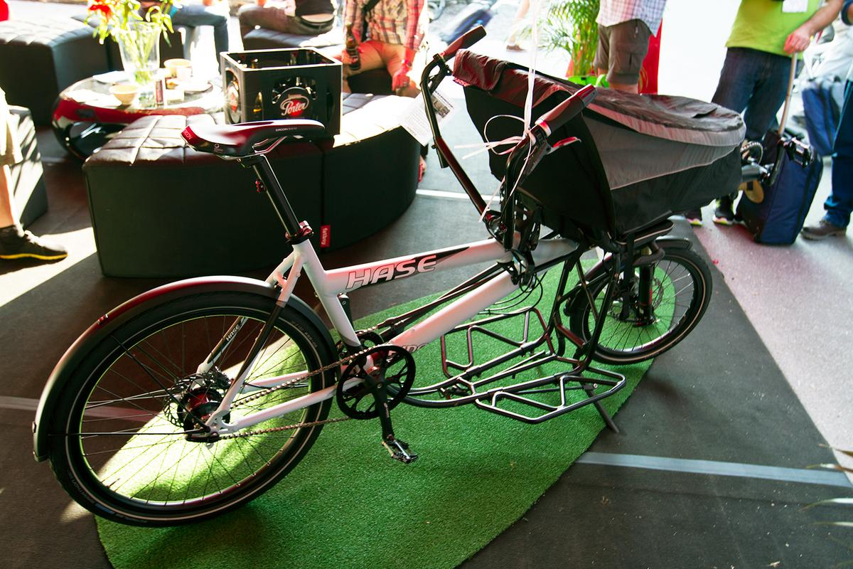The Pino Porter at Eurobike 2013