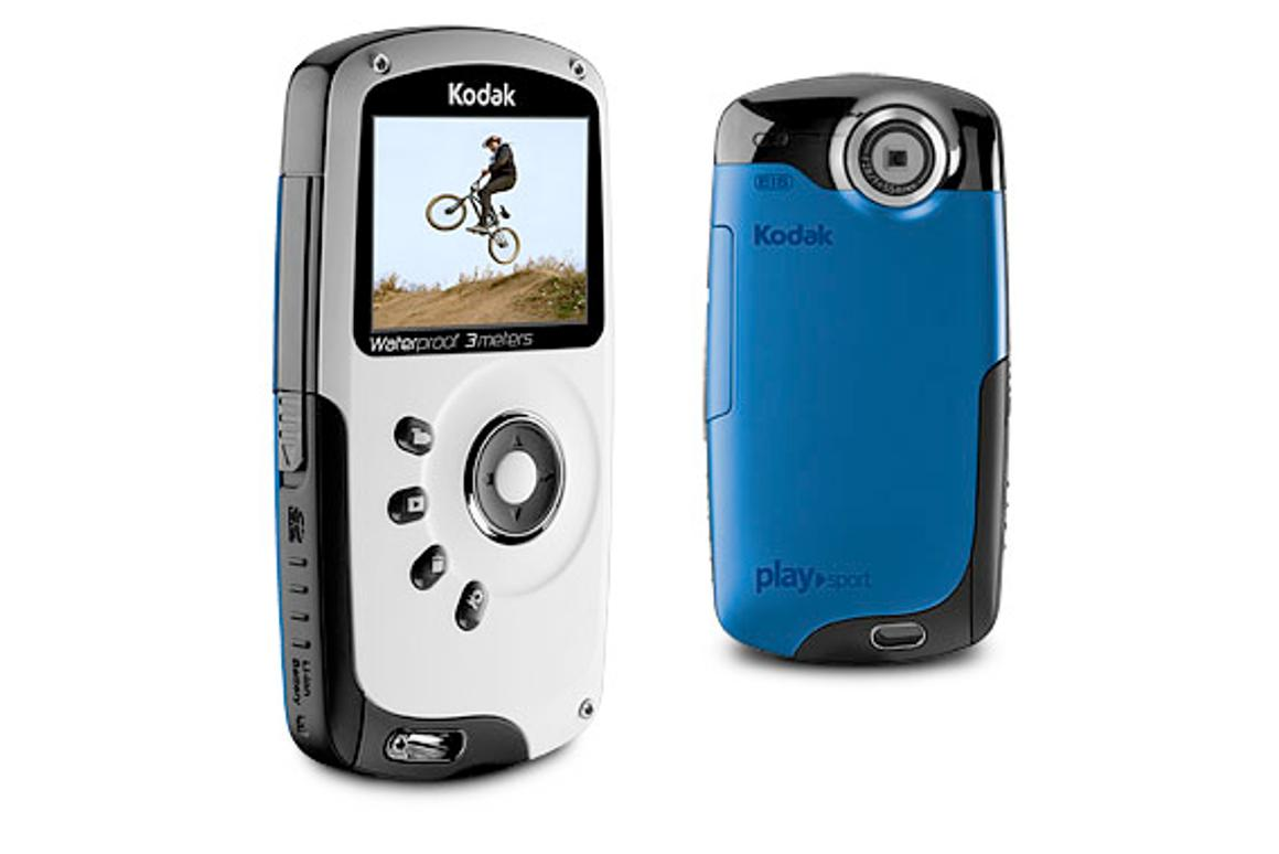 The Kodak Playsport video camera