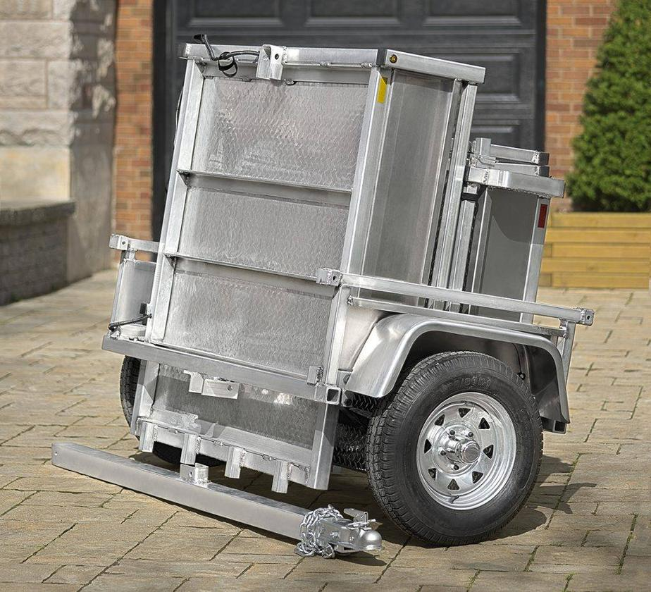 Once it's folded and its tow bar is removed, the Adapt-X's footprint is 38 inches from front to back (0.9 m)