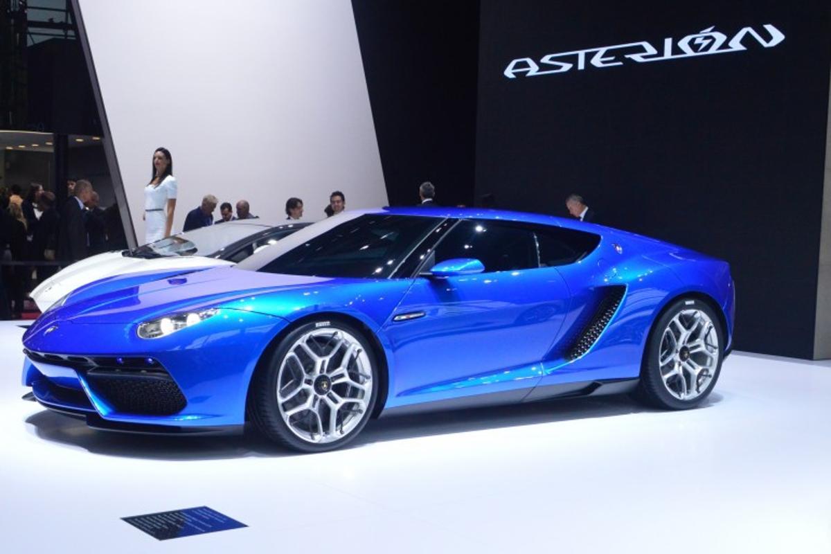 The Lamborghini Asterion in Paris (Photo: C.C. Weiss/Gizmag)