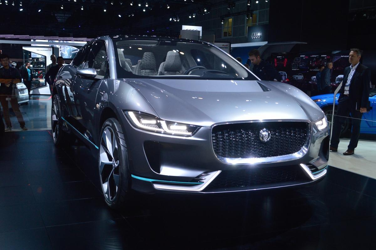 Jaguar I-Pace Concept world premiere at the 2016 LAAuto Show