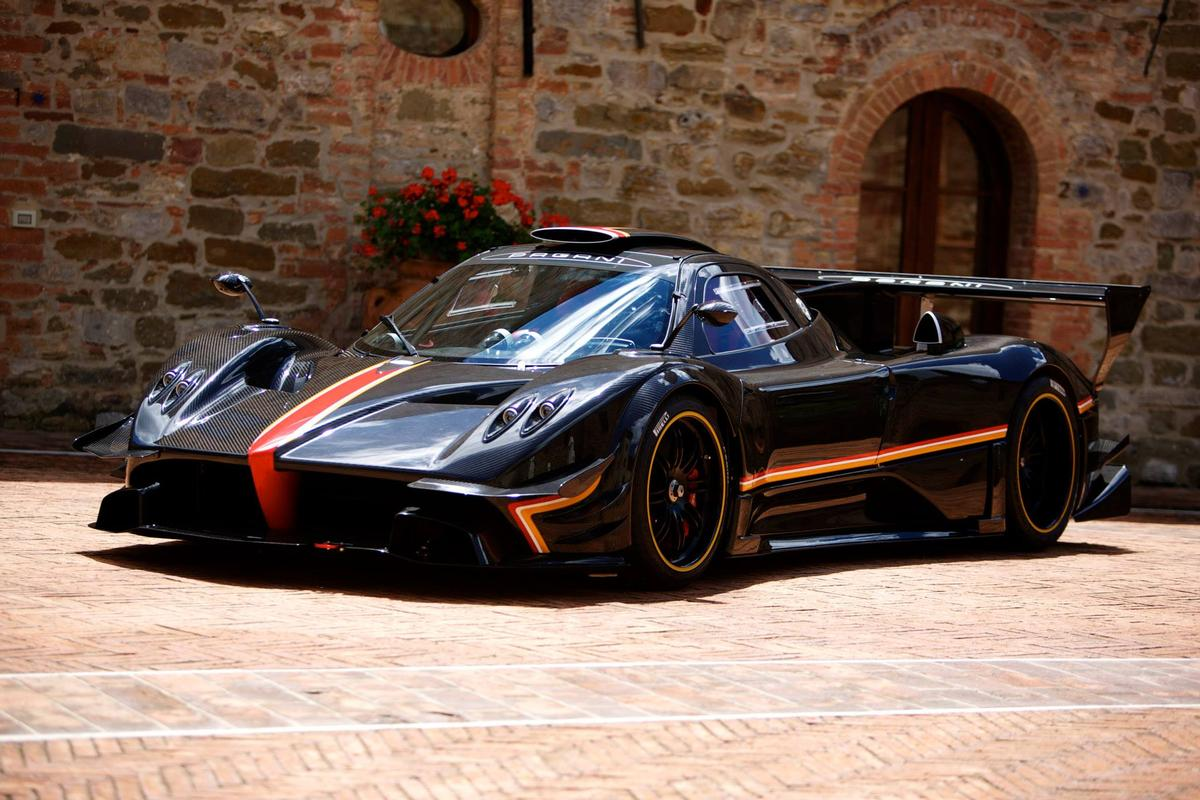 Pagani introduced the Zonda Revolucion at its Vanishing Point 2013 event